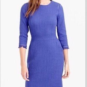 J CREW Size 4 Interview Work Tweed Dress